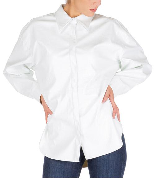 Camicia MSGM 2742mde104 195802 01 bianco