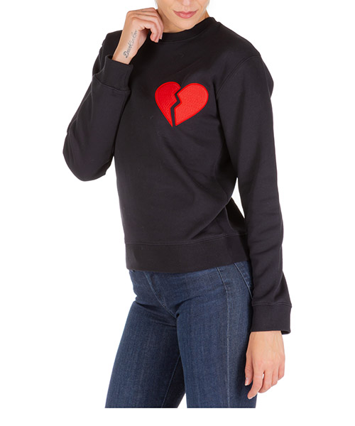 Sweatshirt MSGM 2742MDM274 195799 99 nero