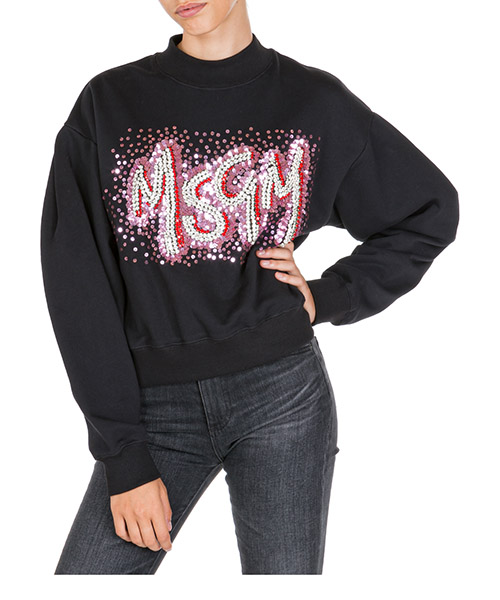Sweat MSGM 2743MDM63 195710 99 nero