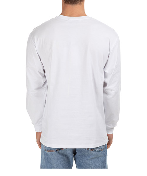 Men's long sleeve t-shirt crew neckline logo secondary image