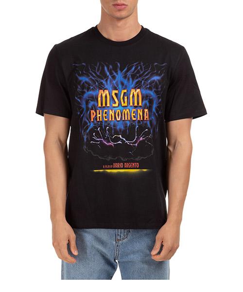 T-shirt MSGM dario argento x 2940MM21499 nero