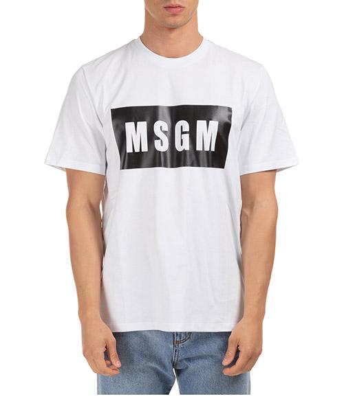 T-shirt MSGM 2940MM6701 bianco