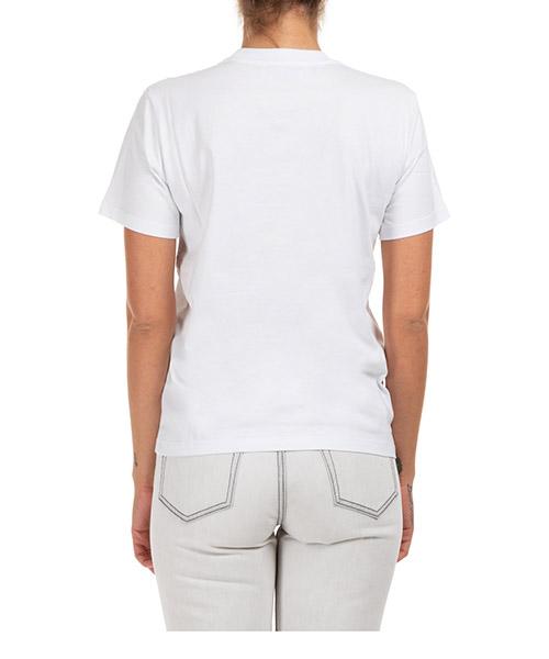 Camiseta de mujer de cuello redondo con mangas cortas logo cupido secondary image