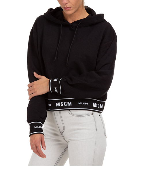 Sudadera con capucha MSGM 2941MDM18399 nero