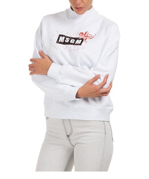 Sweatshirt MSGM 2941mdm7001 bianco
