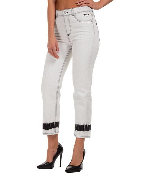 Jeans MSGM 2941mdp49l02 bianco