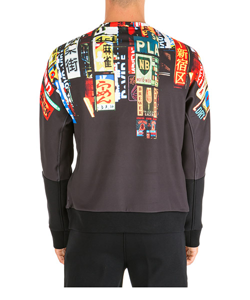 Men's sweatshirt sweat  slim fit shinjuku soho secondary image