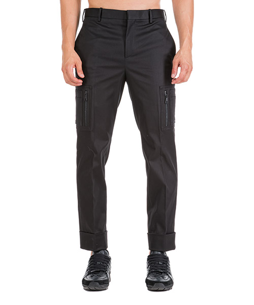 Trousers Neil Barrett BPA730M004 01 black