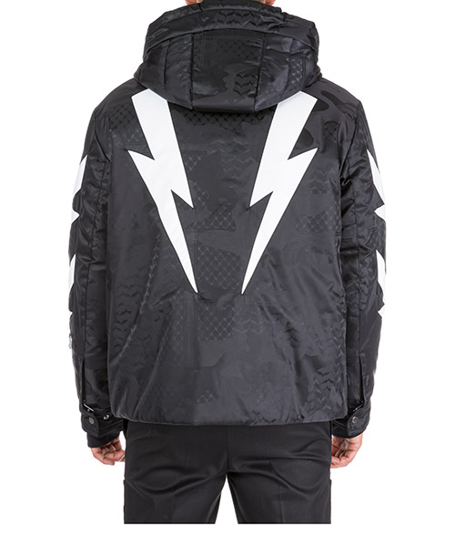 Men's outerwear jacket blouson hood tigerbolt secondary image