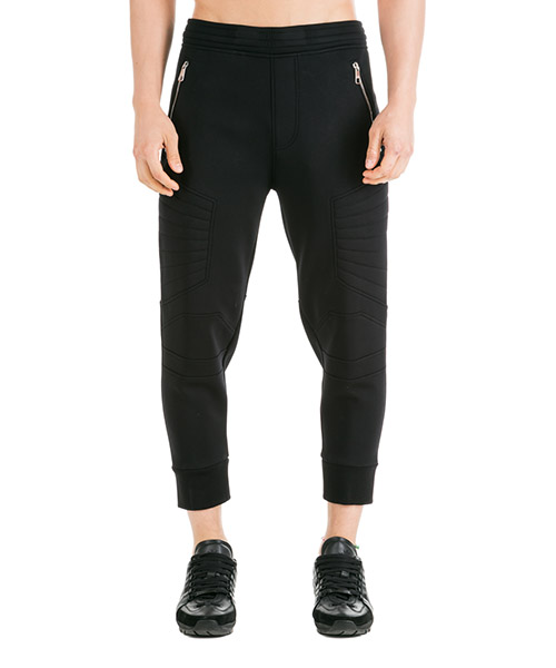 Спортивные брюки Neil Barrett Travel motocross skinny PBJP137CHM508 01 black