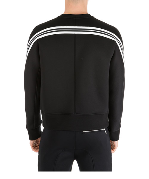 Men's sweatshirt sweat  ergodynamic varsity strip secondary image