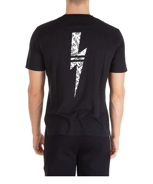 T-shirt manches courtes ras du cou homme graffiti thunderbolt secondary image