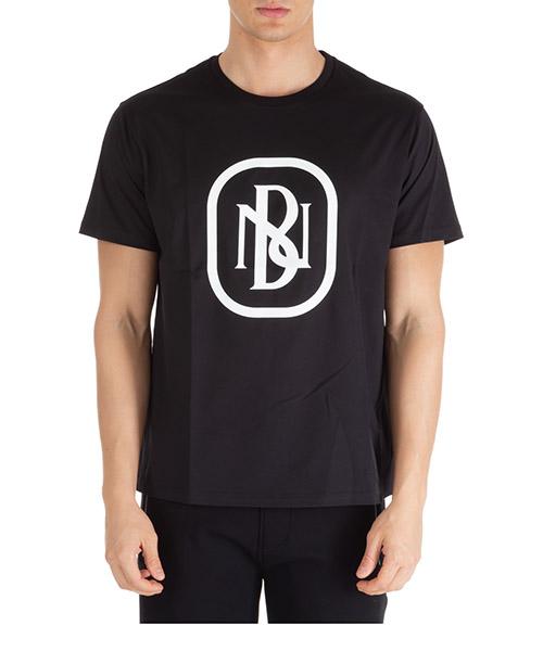 T-shirt Neil Barrett pbjt695sn530s 524 nero