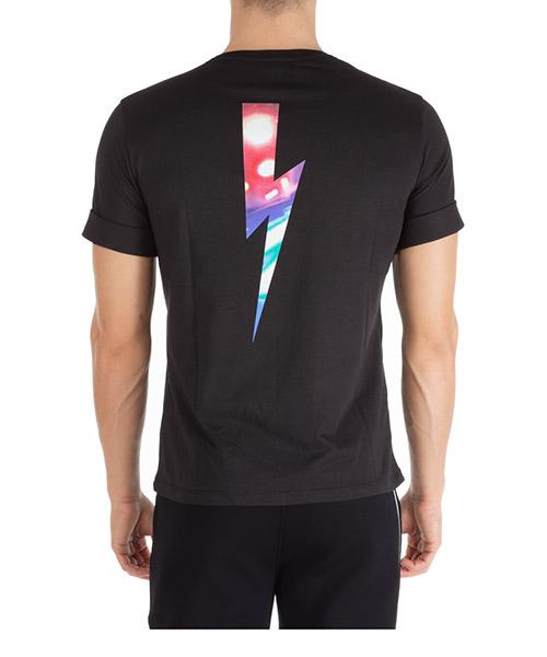 T-shirt maglia maniche corte girocollo uomo city lights secondary image