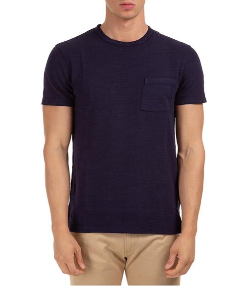 T-shirt Orlebar Brown sammy ii garment dye 270182 navy
