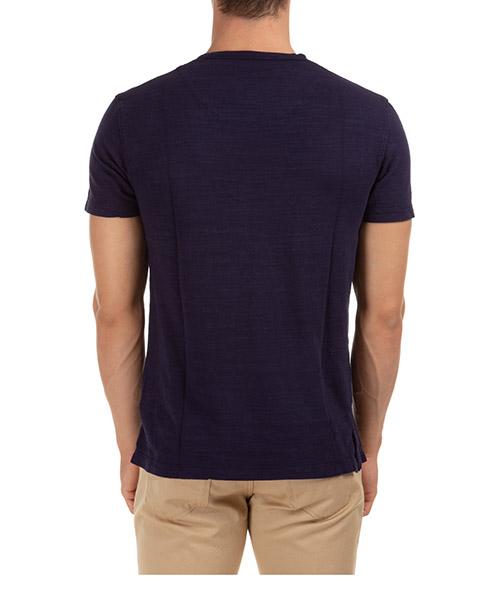 Herren t-shirt kurzarm kurzarmshirt runder kragen sammy ii garment dye secondary image
