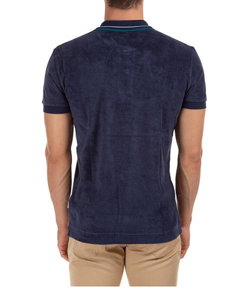 Herren t-shirt polo kurzarm kurzarmshirt polokragen sawyer towelling secondary image