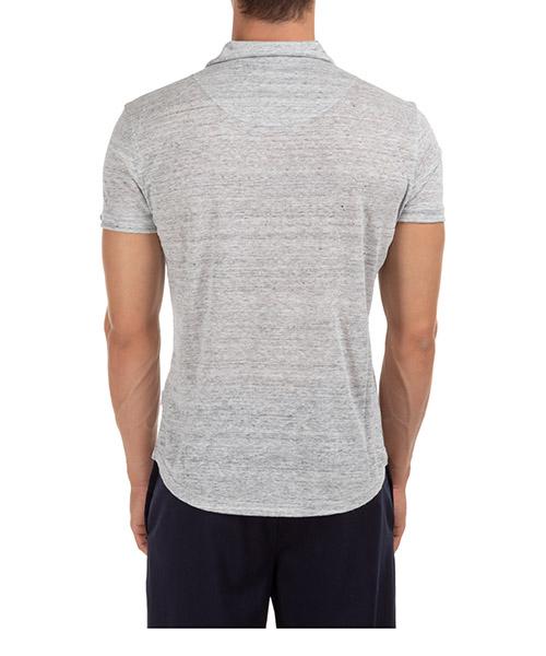 Herren t-shirt polo kurzarm kurzarmshirt polokragen sebastian secondary image