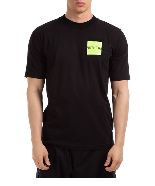 T-shirt Outhere lunar 01M102-636 nero