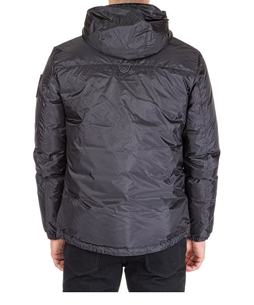 Men's outerwear down jacket blouson hood ripstop warp 15 secondary image