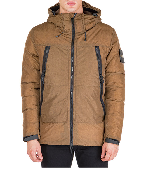 Down jacket Outhere ripstop 92m572-223 53 marrone