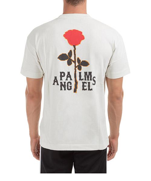 Herren't-shirt kurzarm kurzarmshirt runder kragen small rose secondary image