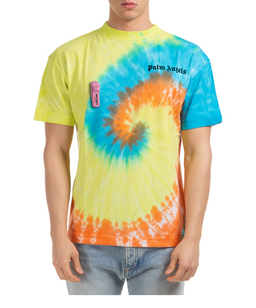 T-shirt Palm Angels pmaa001r204130060188 giallo