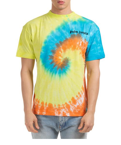 Herren t-shirt kurzarm kurzarmshirt runder kragen tie dye secondary image