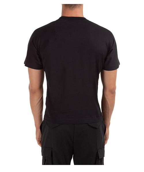 Herren't-shirt kurzarm kurzarmshirt runder kragen desert logo kimono secondary image