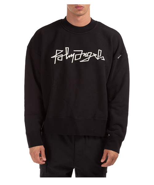 Sweatshirt Palm Angels Desert PMBA026F20FLE0051001 nero