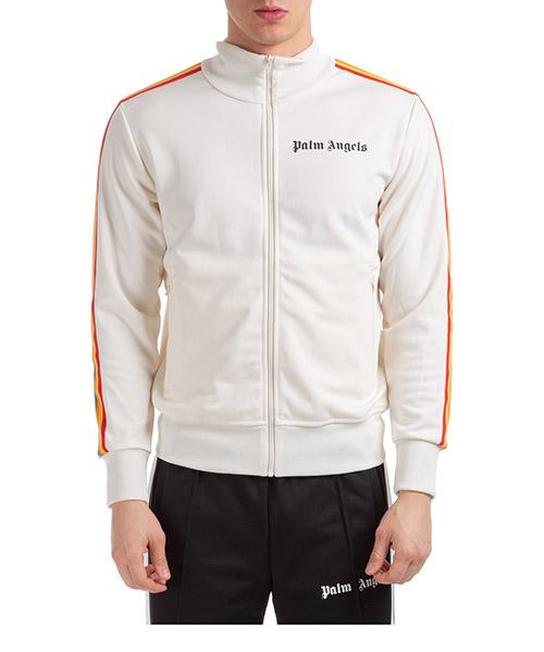 Sweatshirt mit Zip Palm Angels classic rainbow pmbd001r203840020288 beige