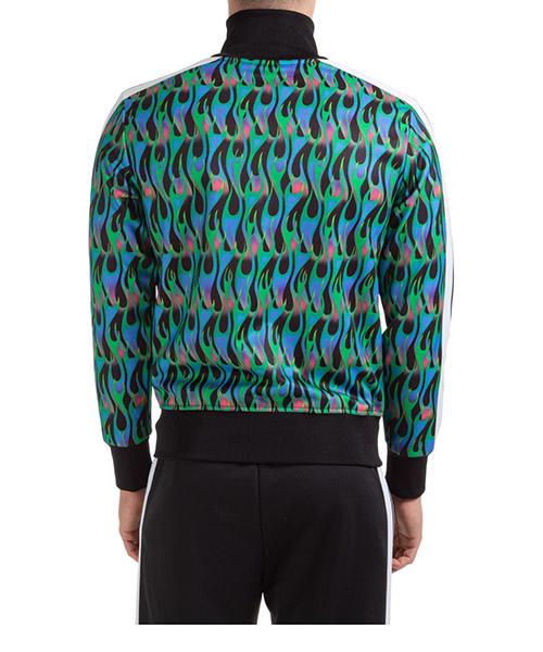 Herren sweatshirt mit zip burning track secondary image