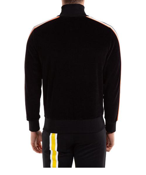 Herren sweatshirt mit zip handmade tie dye tape secondary image