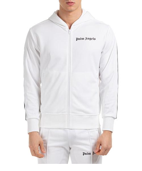 Sweatshirt mit Zip Palm Angels pmbd025r203840010510 bianco
