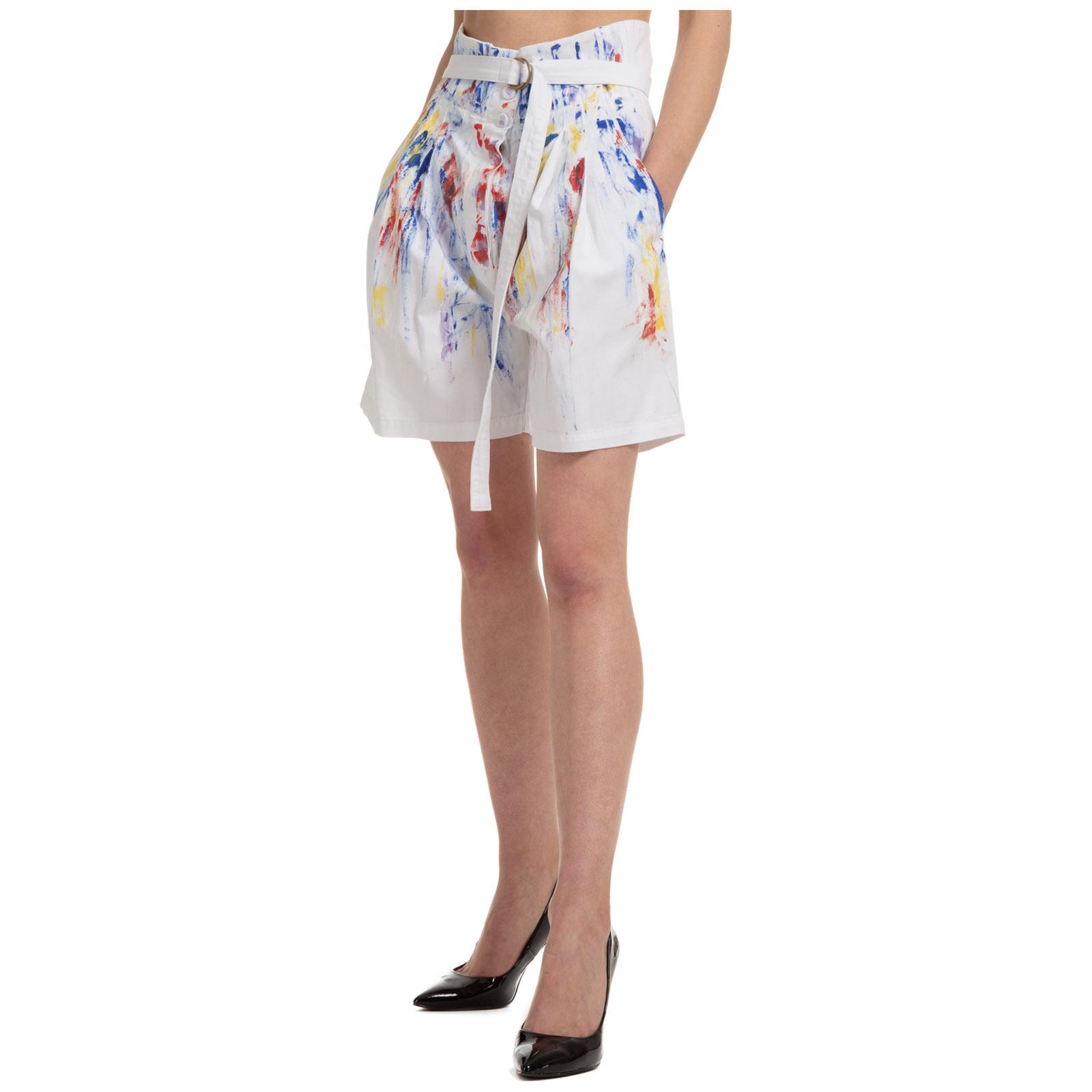 Pantaloncini corti shorts donna bermuda paintings
