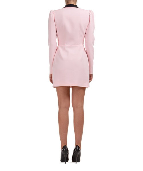 Damen kurzes kleid mini lange Ärmel secondary image