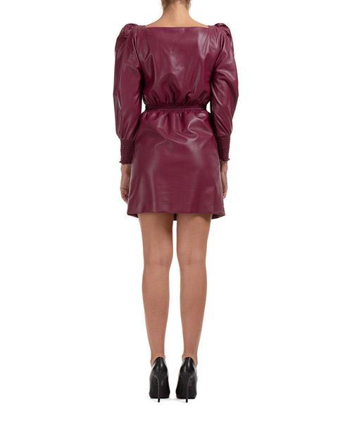 Women's short mini dress long sleeve secondary image