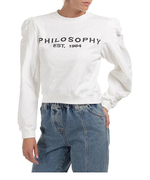 Sweatshirt Philosophy di Lorenzo Serafini A170257470002 bianco