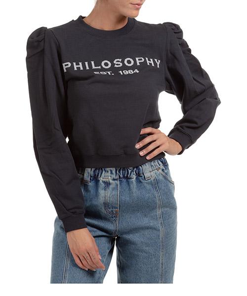 Sweatshirt Philosophy di Lorenzo Serafini A170257470509 nero