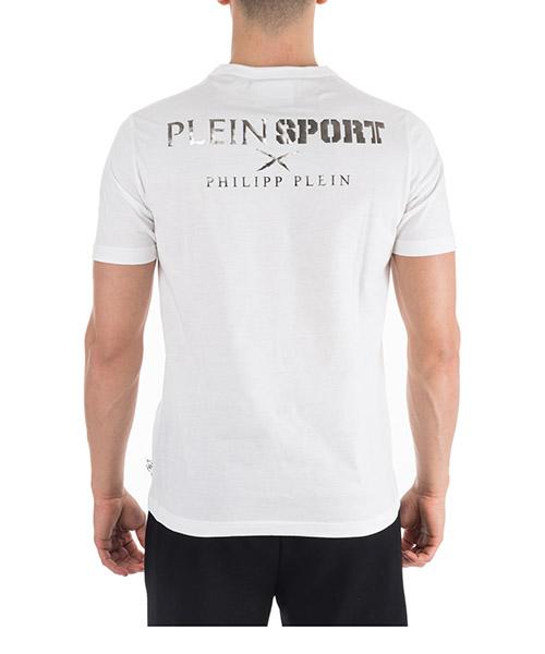 Herren t-shirt kurzarm kurzarmshirt runder kragen ss statement secondary image