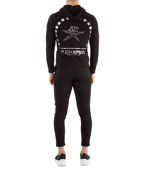 Men's jumpsuit pants with sweatshirt fashion secondary image