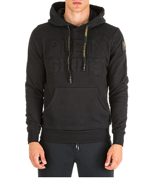 Sweat à capuche Plein Sport Statement A19C MJB1175 SJO001N black