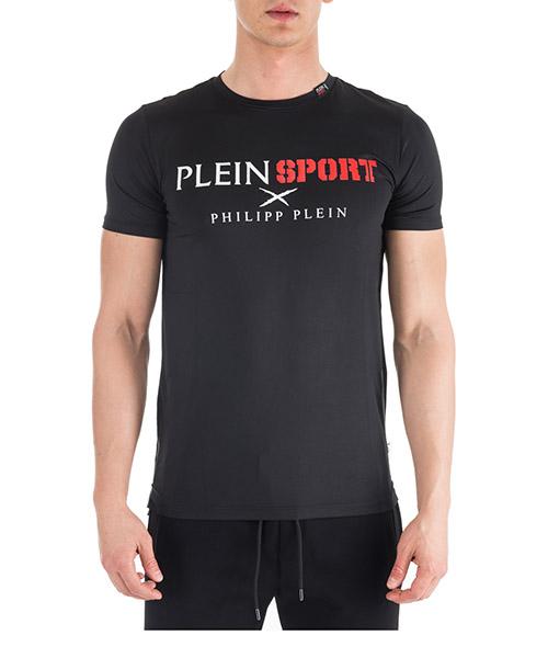 Camiseta Plein Sport F18C-MTK2333-SJY001N nero