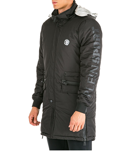 Winterjacke Plein Sport tiger f19c mra0230 sxv005n black