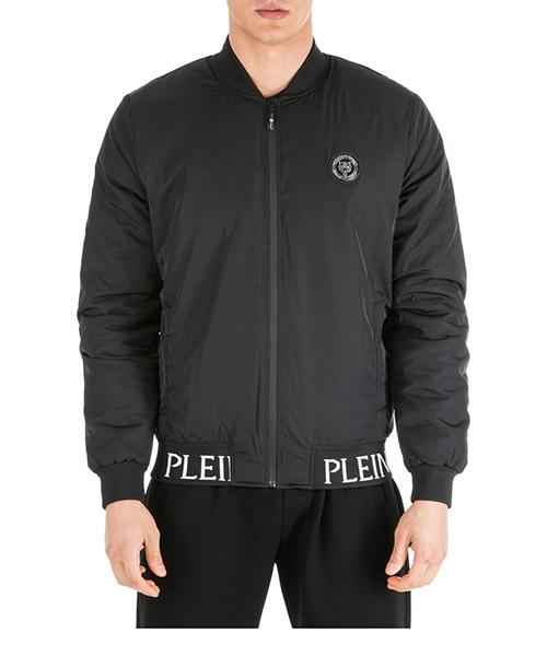 Bomber jacket Plein Sport F19C MRB1161 SXV005N nero
