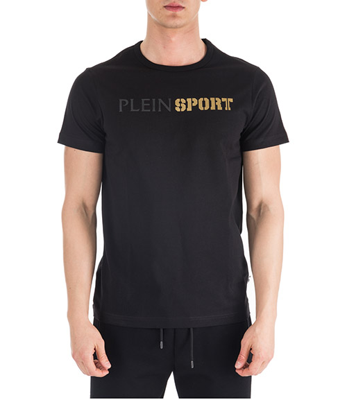 Camiseta Plein Sport S19C-MTK3175-SJY001N_02 nero