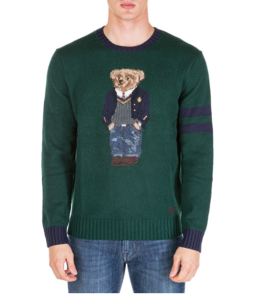 Jumper Polo Ralph Lauren bear 710766110001 verde