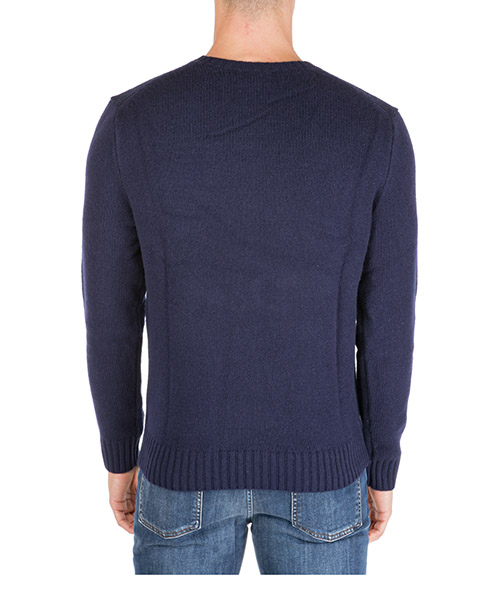 Men's crew neck neckline jumper sweater pullover bear secondary image