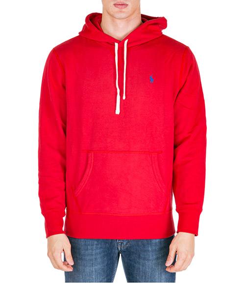 Sudadera con capucha Polo Ralph Lauren 710766778002 rosso
