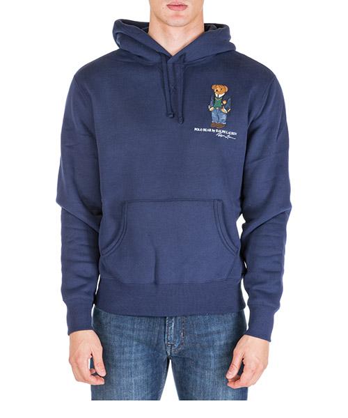 Sudadera con capucha Polo Ralph Lauren bear 710766807001 blu